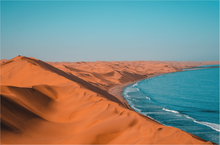 South Africa to Namibia